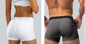 632976542b02 Mens Padded Underwear and Womens Butt Enhancers for Comfort and Appearance  Butt For You